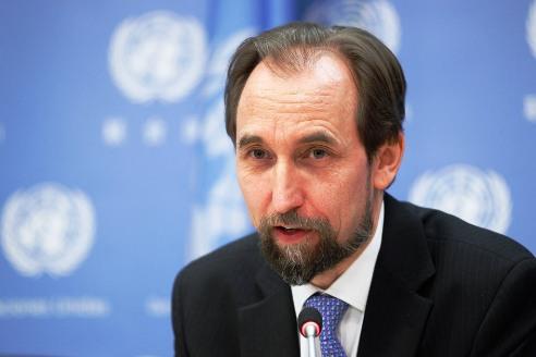 UN Human Rights Chief Prince Zeid Ra'ad Al-Hussein. Image: Paulo Filgueiras/UNphoto