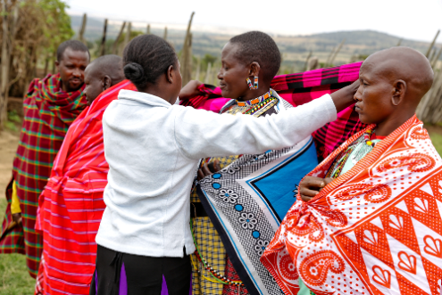 Reconcilation Ceremony brings girls & mothers together without FGM