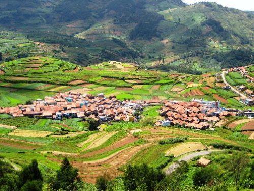 Poomparai Village sits on the the foothills of the Sahyandri Mountain range