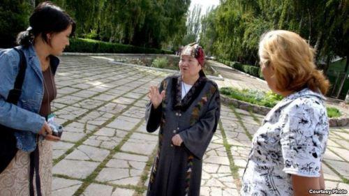 Journalist Jusupjan in Osh, Kyrgyzstan