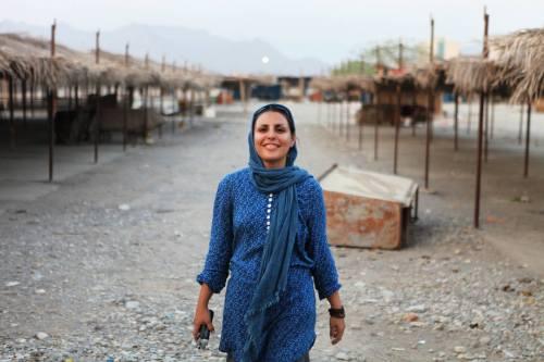 Filmmaker Mina Keshavarz