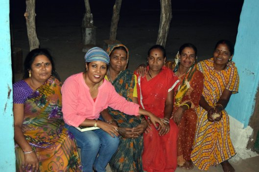 With indigenous women who fight domestic violence in Betul district of central India